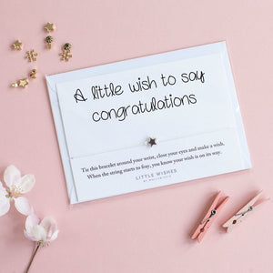 Little Wishes - Congratulations Bracelet