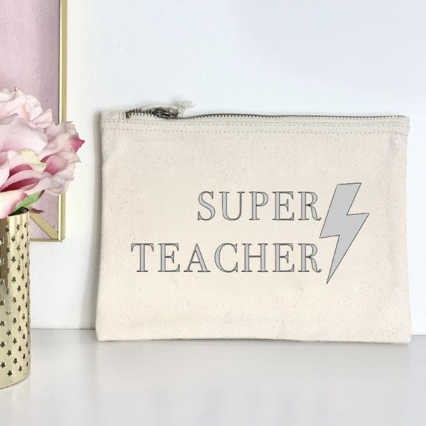 Super Teacher Pencil Case