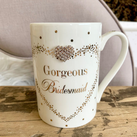 Gorgeous Bridesmaid Gem Mug