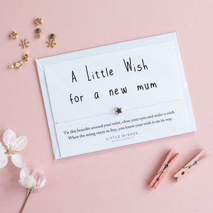 Little Wishes - New Mum To Be Bracelet
