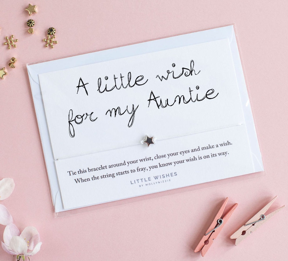 Little Wishes - For My Auntie Bracelet