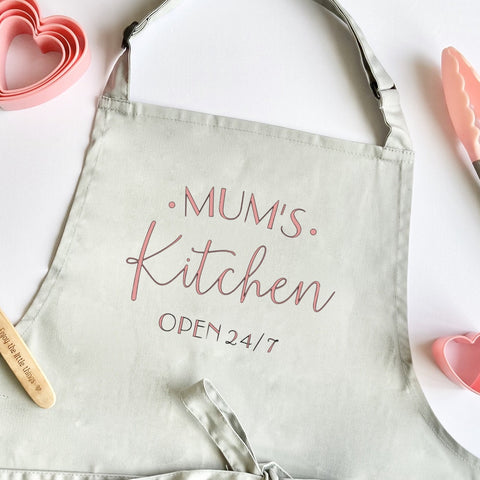 Personalised Mum's Kitchen Apron
