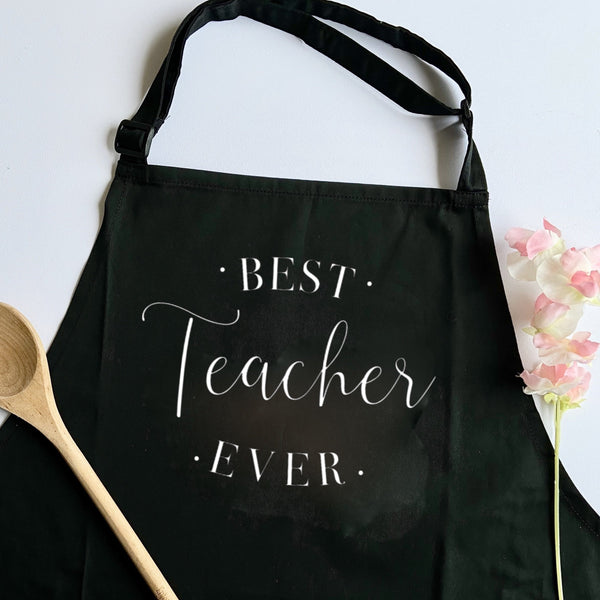 Best Teacher Ever Apron