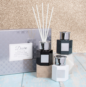 Set of 3 Diffusers - Grey Home