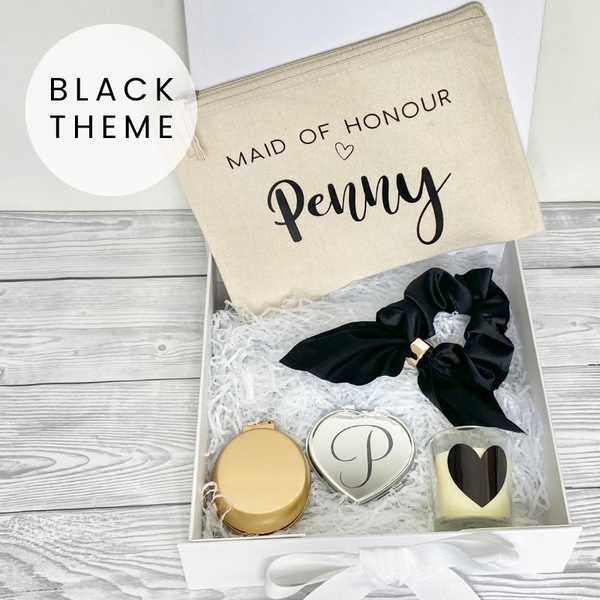 Personalised Bridesmaid Gift Box Hamper
