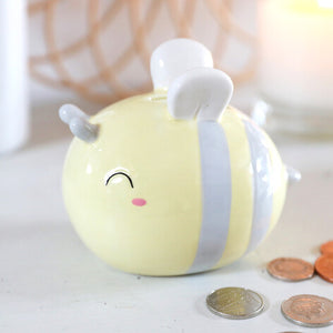 Ceramic Bee Money Box