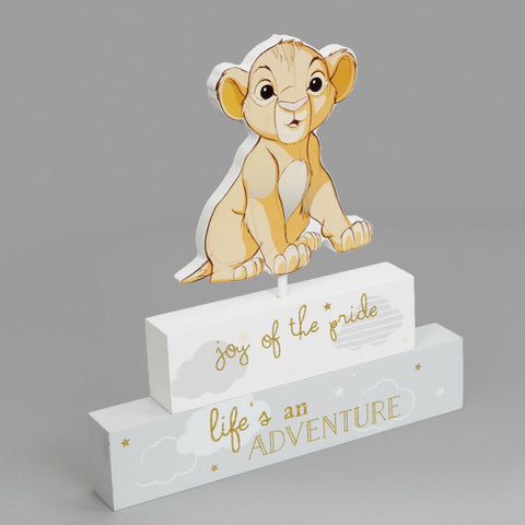 Disney The Lion King Simba Mantel Block