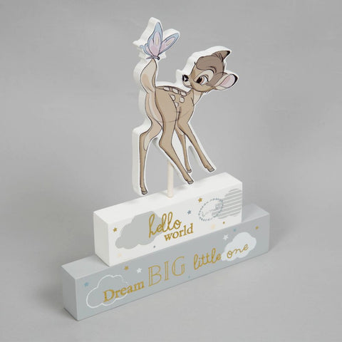 Disney Bambi Mantel Block
