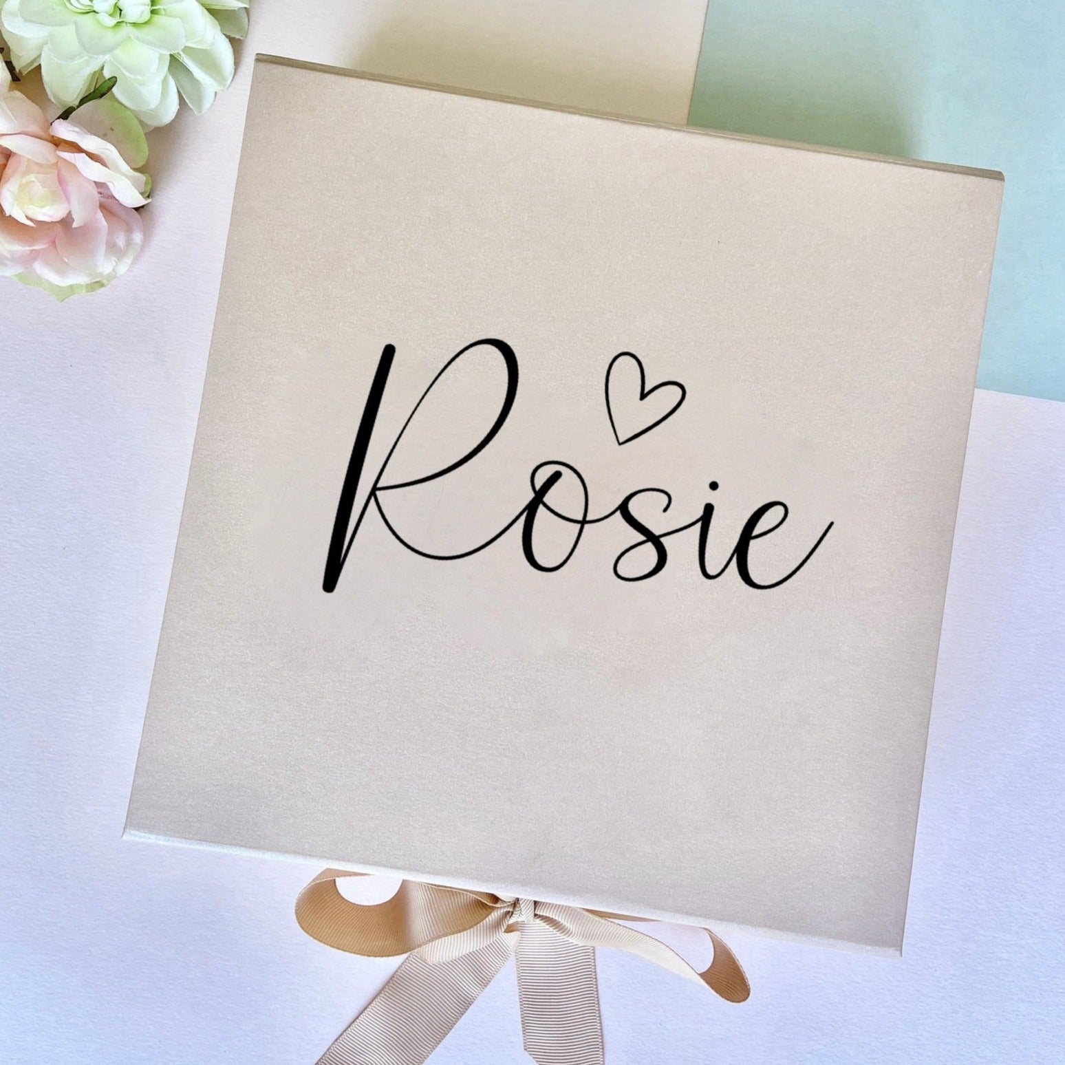 Personalised Gift Box with Heart