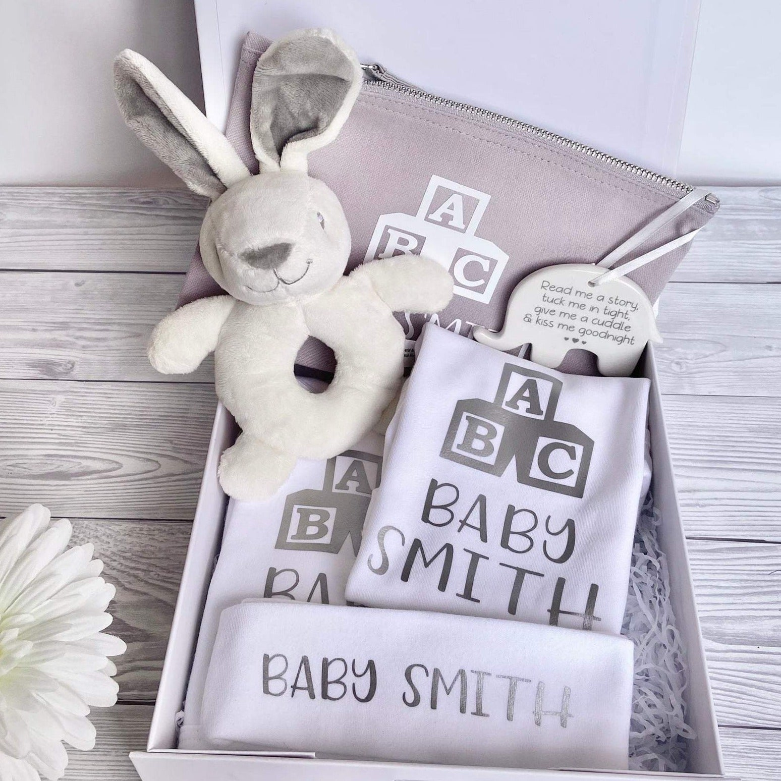 Personalised Baby Gift Hamper