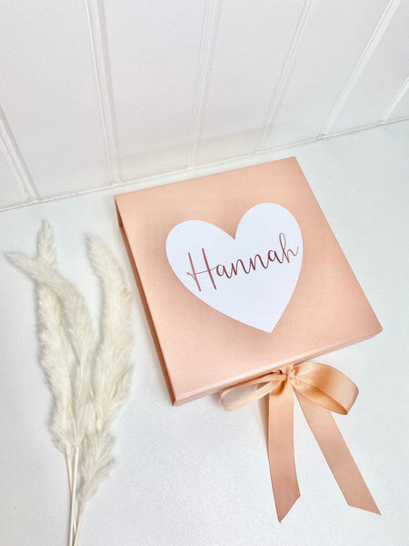 Luxury Personalised Thank You Gift Box
