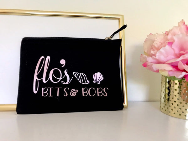 Personalised Bits and Bobs Trinket Pouch