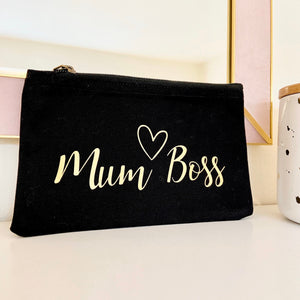 Personalised Mum Boss Pouch