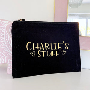 Personalised Name Stuff Pouch
