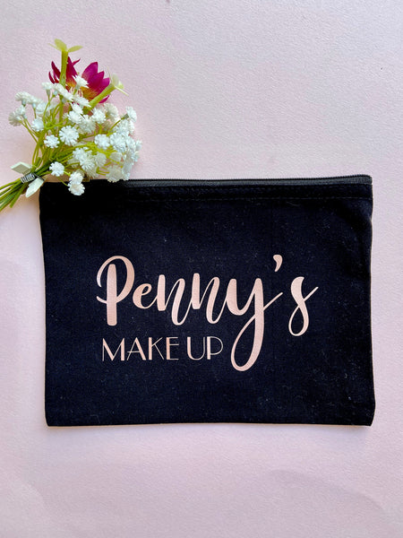 Personalised Make Up Cosmetic Bag