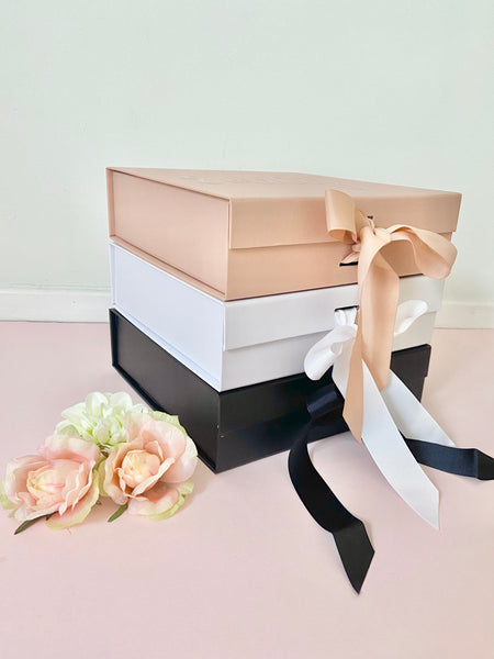 Personalised Bridal Thank You Box