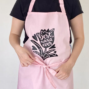 Personalised Best Nana Ever Apron