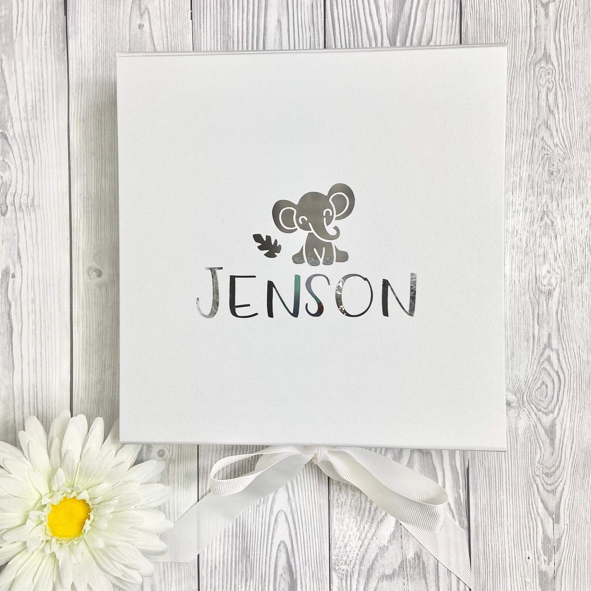 Personalised New Baby Gift Box