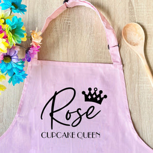 Personalised Crown Apron