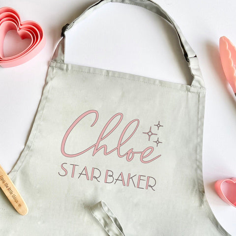 Personalised Star Baker Apron