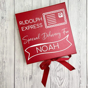 Personalised Rudolph Express Christmas Gift Box