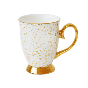 Bombay Duck Doolittle Splatter Gold Mug
