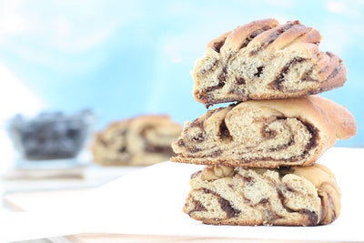 Mocha Cookie Butter Babka