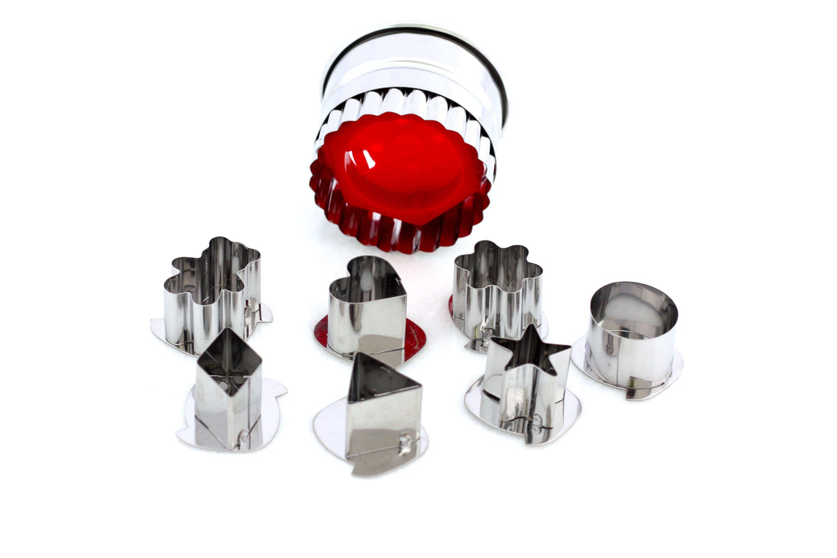 7-Piece Round Linzer Cutter Set