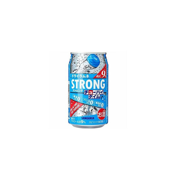 Bebida Strong Zero Sabor Ramune 9% 350ml