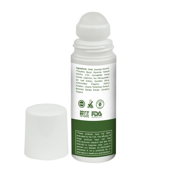 CBD FREEZE Roll-On-Gel Instant Relief 1500MG 90ml Bottle