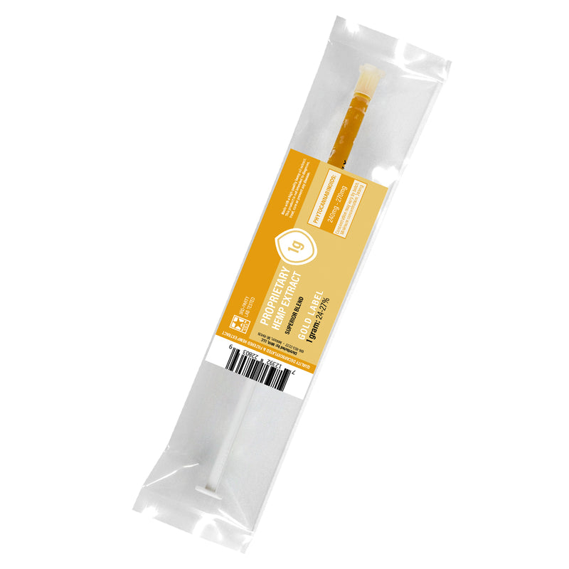 Proprietary Hemp Extract (Gold Label) 24-27% 3g Oral Syringe - Genesis Pure Botanicals