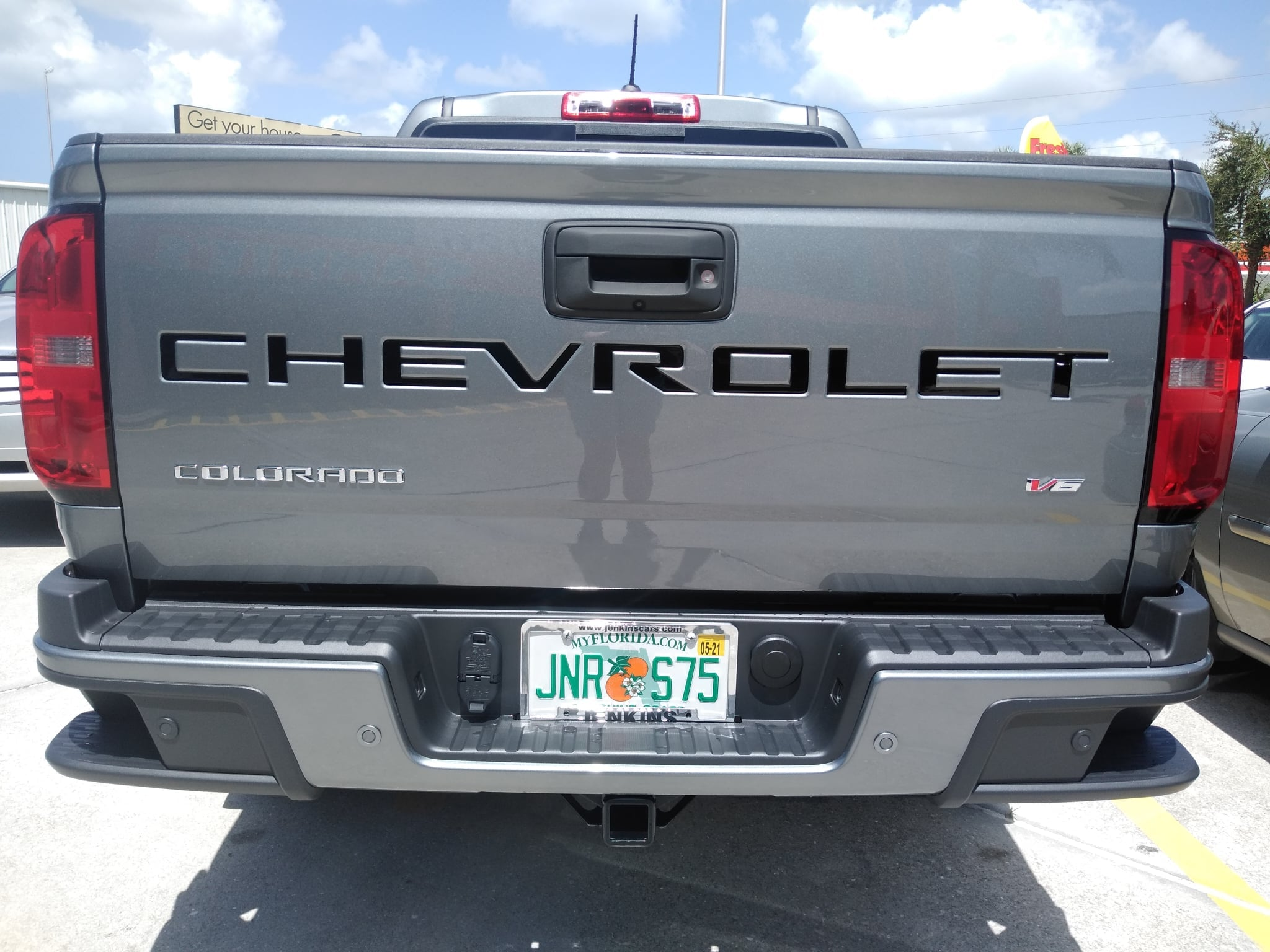 2021 Chevy Colorado Tailgate Letters ABS Plastic
