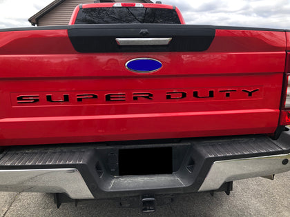 2020 Ford Super Duty Tailgate Letters ABS Plastic F250 F350 F450