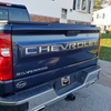 2019-2021 Chevy Silverado Tailgate Letters ABS Plastic