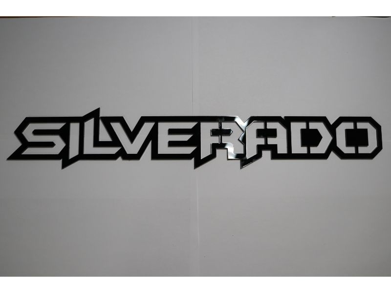 Silverado Emblem Replacment Badge