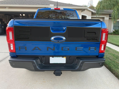 2019-2021 fits Ford Ranger Rear Tailgate Applique Panel RAPTOR