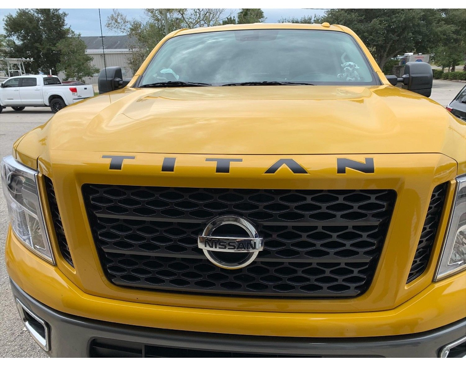 2020-2021 Nissan Titan Front Grill Letters