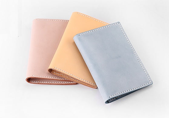 Handmade Microsuede Leather Passport Holder