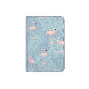 Flamingo Synthetic Leather Passport Holder