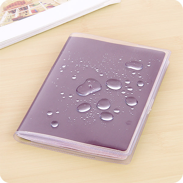 Clear Passport Holder PVC