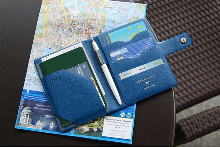 Multi-function RFID Passport Holder
