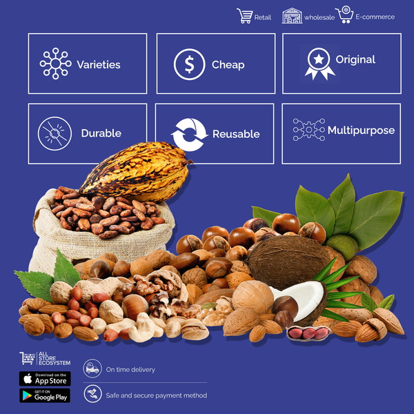 Dry Fruits, Nuts & Seeds - Sherza Allstore