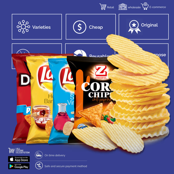 CHIPS & CORN SNACKS - Sherza Allstore