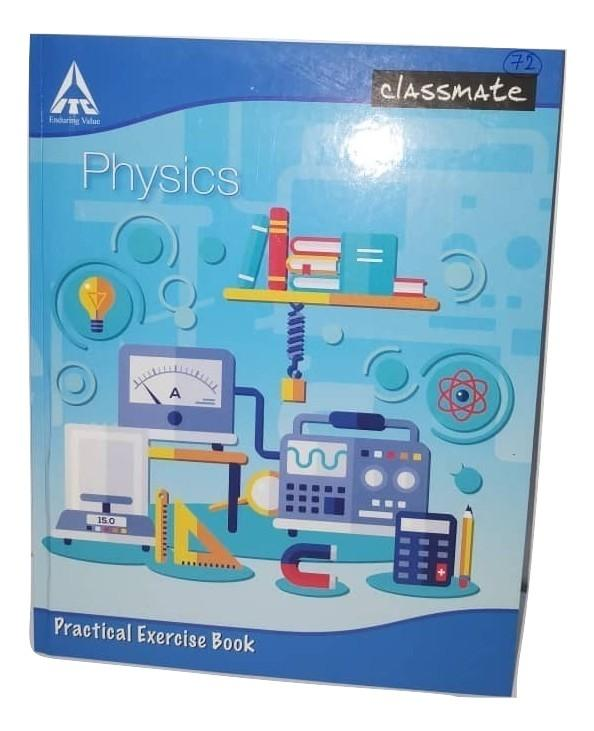 Classmate Physics Practical Exercise Book 168 pages - Sherza Allstore