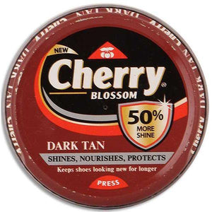 Cherry Blossom Dark Tan Shoe Polish 40g - Sherza Allstore