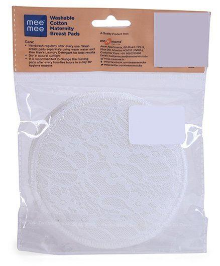 Mee Mee Washable Maternity Nursing Breast Pads - Sherza Allstore