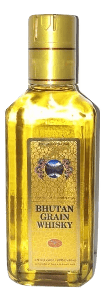 Bhutan Highland Grain Whisky 180ml - Sherza Allstore