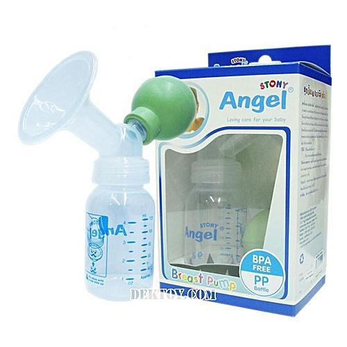 Stony Angel Breast Pump with Bottle - Sherza Allstore
