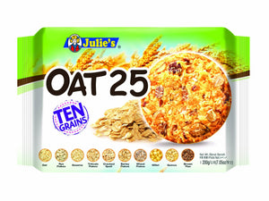 Julie's Oats 25 Ten Grains 200g