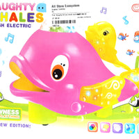 Naughty Whales, Flash Electric Age 3+ - Sherza Allstore
